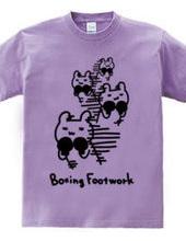 ボクシング クマのフットワーク