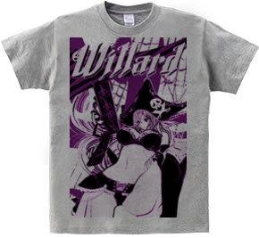 WILLARD 海賊と拳銃 ガールズイラスト