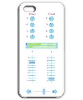 DJ MIXER iPhone5 light blue