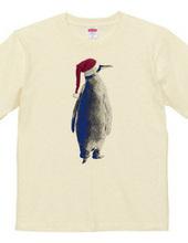 Santa hat penguin A