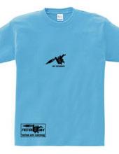 タトゥー マシン モチーフ ロゴ(黒) 半袖 Tシャツ