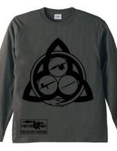 Ouroboros Trinity (black) long sleeve