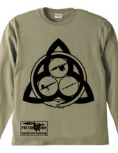 Ouroboros Trinity (black) long sleeve