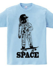 Space Skateboarder