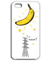 iphone-月になったバナナ