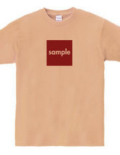 sampleT t-shirts - square