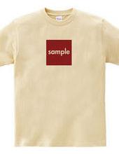 sampleT t-shirts - square