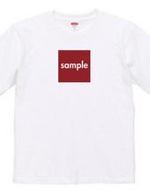 sampleTシャツ-スクエア