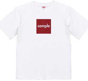 sampleTシャツ-スクエア