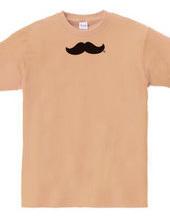 不適に笑う髭