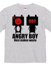 お怒り少年『アングリー君』2