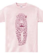 ハート柄のチーター[pink]
