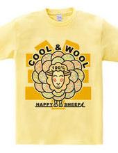 COOL & WOOL 100  の羊