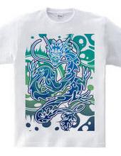 青龍トライバル デザインパターン03