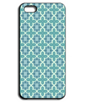 Arabesque Iphone case(BLUE)