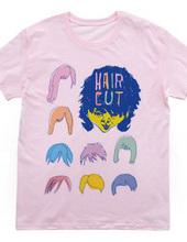 [POP LABEL] hair cut