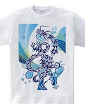 龍トライバルtype1 デザインパターン04-水遊び-