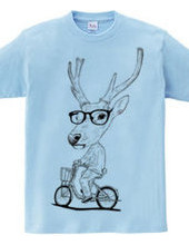 Deer bicycle
