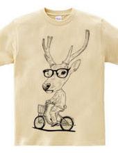 Deer bicycle
