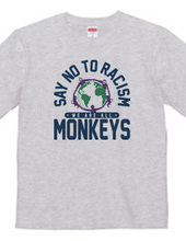 Say No to Racism We are all Monkeys_B