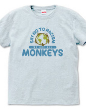 Say No to Racism We are all Monkeys_A
