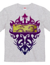 Dragon type3-SQUARE-Purple