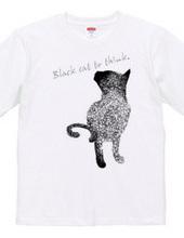 考える黒猫