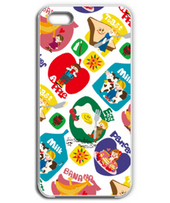Morning breakfast pattern iPhone case.