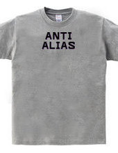 ANTI ALIAS(BLACK)