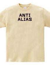 ANTI ALIAS(BLACK)