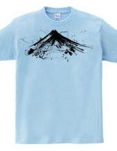 Sumi ink Fuji