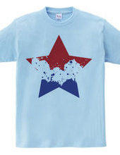 SIMPLE STAR (tricolor)