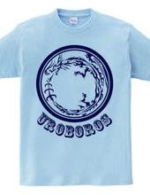 ウロボロス トライバル デザインパターン02-Blue-