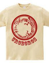 ウロボロス トライバル デザインパターン02-Red-