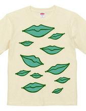 Lips-green