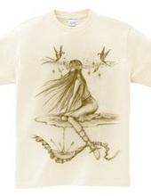 シュルレアリスム可憐な美しい妖精「アナ」心の目を持つ神秘的な美女【個性的で珍しい