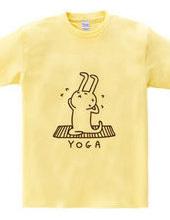 ヨガ ウサギとポーズ