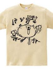 ネコバンザイTシャツ