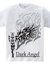 漆黒の天使 トライバル デザインパターン02