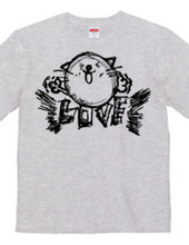 ネコ大好きTシャツ