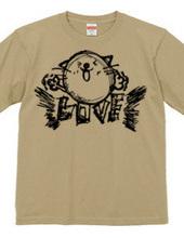 Cats love T shirt