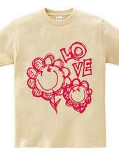 Happy smile flower t-shirt