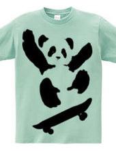 Panda skating