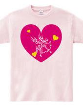 キューピッド トライバル デザインパターン01-Pink-