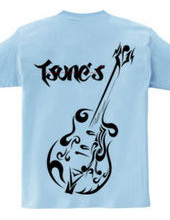 guitar tribal/TSUNE S