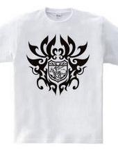ドラゴン トライバル エンブレム -Black-