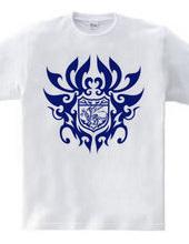 ドラゴン トライバル エンブレム -Blue-