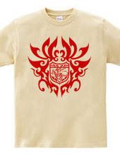 ドラゴン トライバル エンブレム -Red-