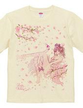 白鳥座のチュチュ 桜色舞うver. ガールズイラスト