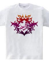 バハムート(頭部)トライバルデザイン-Purple-
